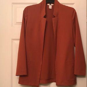 H&M Burnt Orange Blazer